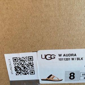 UGG Shoes - Leather UGG flip flops size 8 M
